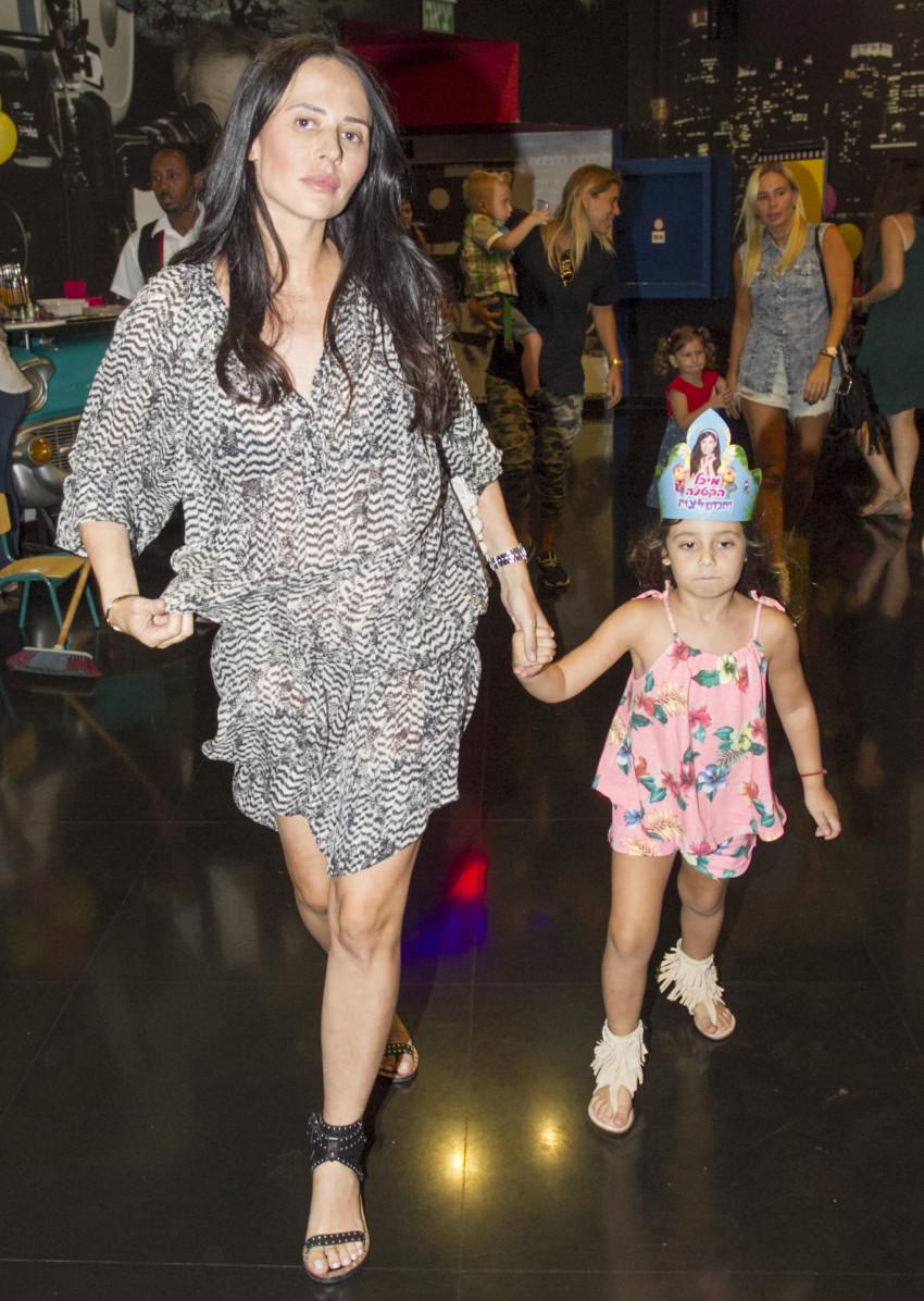 כן, כך היא נראתה בהריון. מרינה קבישר בתחילת החודש (צילום: רפי דלויה)