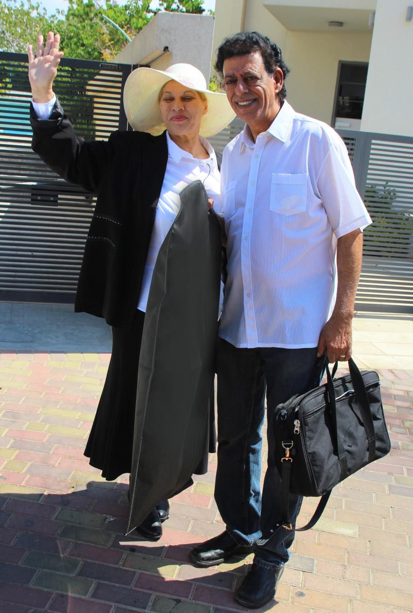 שימי ויהודית (צילום: אור גפן)