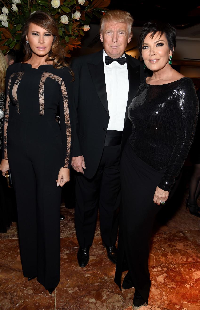 במיעוט? קריס ג'נר עם דונלד טראמפ (גטי)