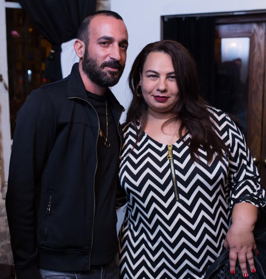 אמירה בוזגלו ובעלה מתערבבים