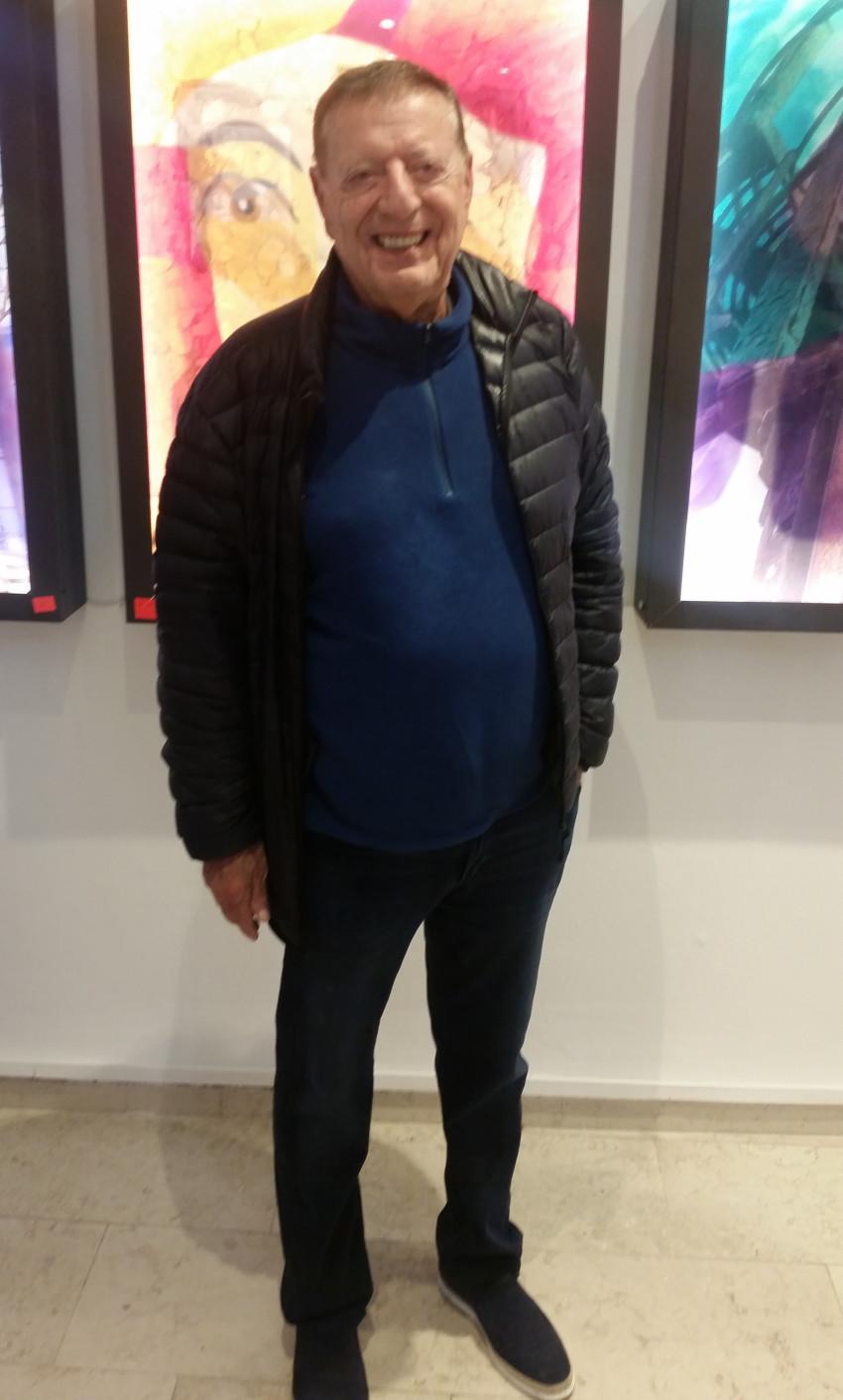 מיכאל שטראוס (צילום: חן כהן)