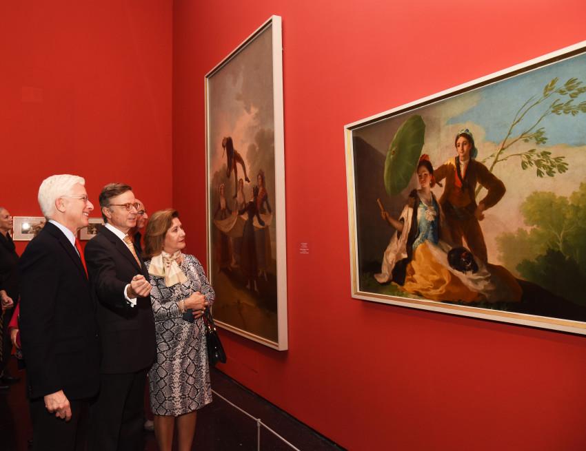 ויקטוריה ופרננדו קרדררה סולר וג'יימס סניידר (צילום: עפרית רוזנברג)