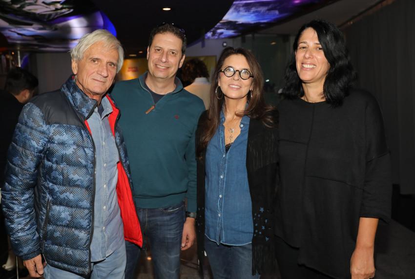 רינת קליין, דרי שי, רון אילון וחיים סלוצקי (צילום: רפי דלויה)