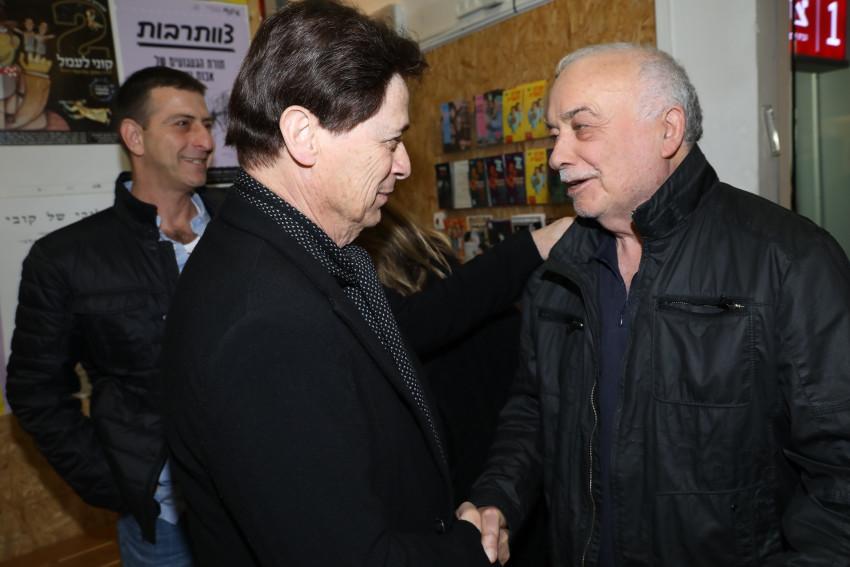 אליעזר פישמן וששי קשת (צילום: רפי דלויה)