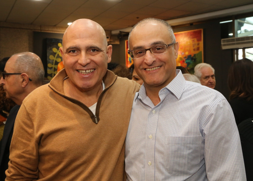 דוד פתאל ודוד מימון (צילום: סיון פרג')