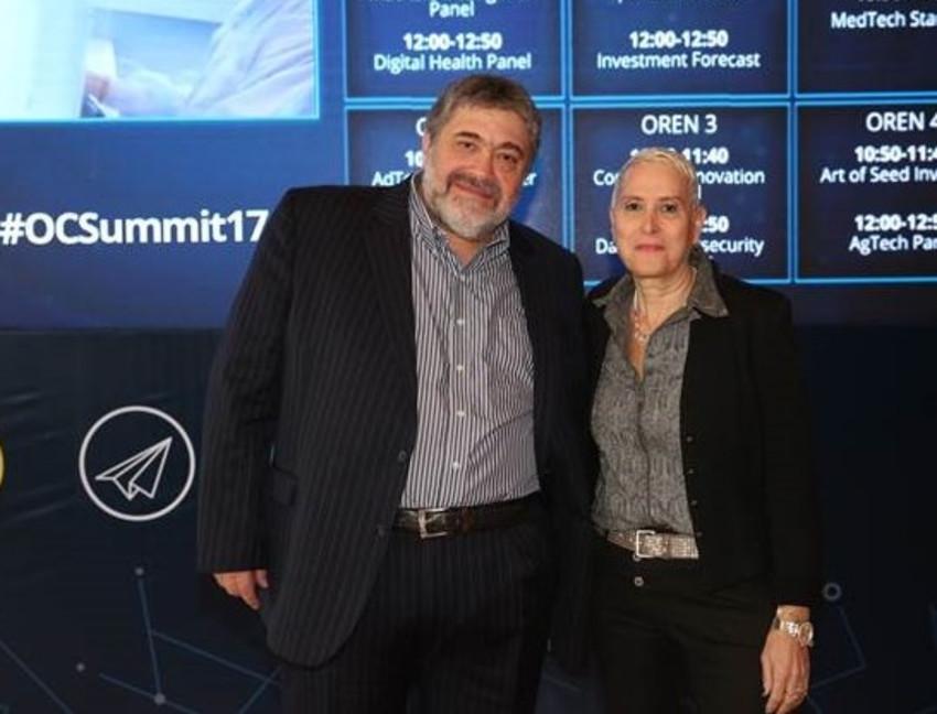 מירה אלטמן וג'ון מדבד (צילום: מיכל פתאל)