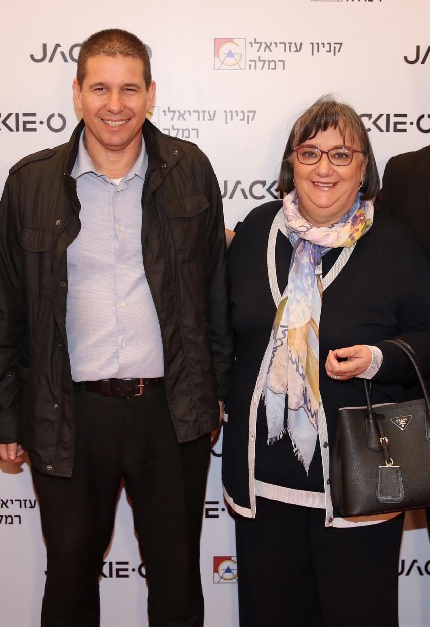 הלנה קצן ויובל ברונשטיין (צילום: אלירן אביטל)
