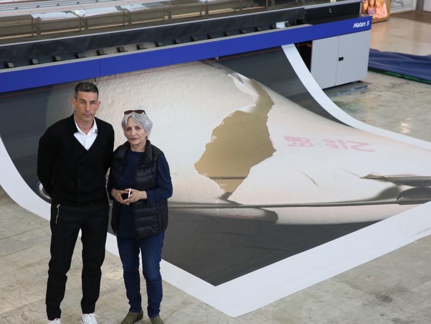 עליזה אולמרט וגיא ברעם (צילום: איתי בלאיש)