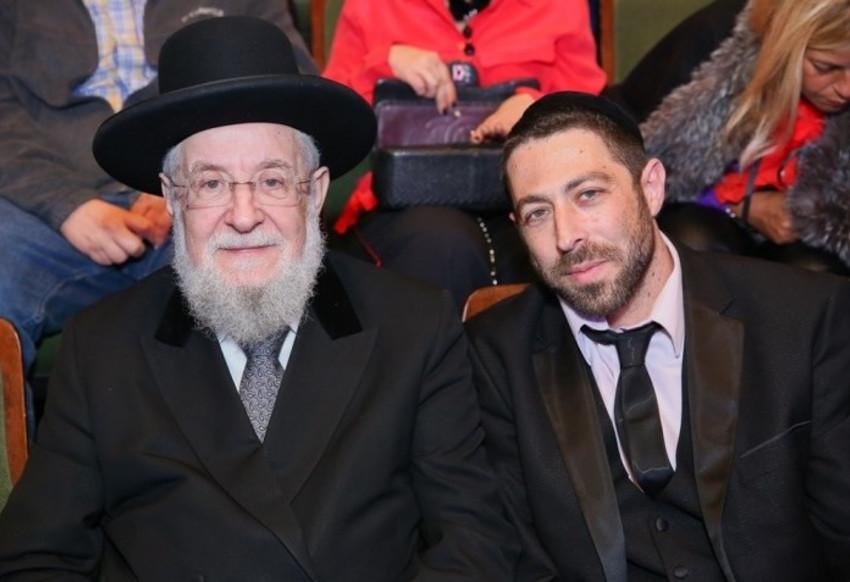 ישראל שיינפלד וישראל מאיר לאו (צילום: חיים טויטו)