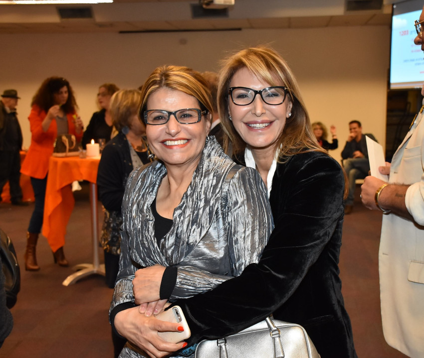 רונית רפאל ודליה איציק (צילום: אביב חופי)