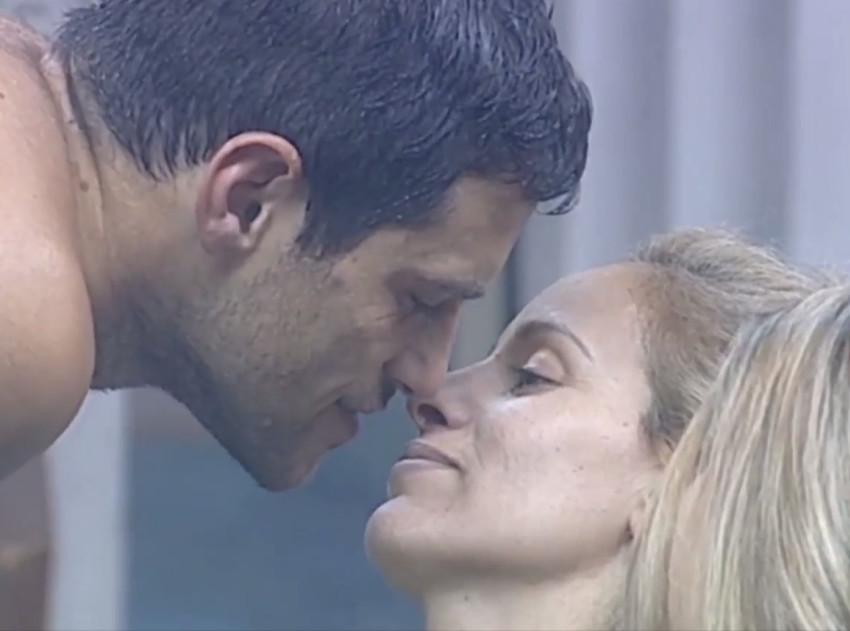 כבר לא יתנשקו. דן רושנסקי ואורנה דנינו (צילום: צילום מסך)