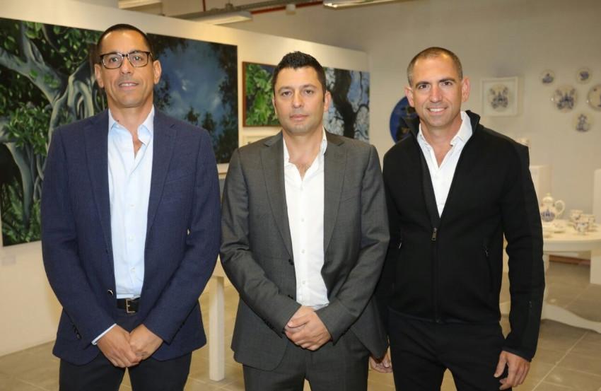 צחי ארבוב, זיו יעקבי ואילן קפון (צילום: רפי דלויה)