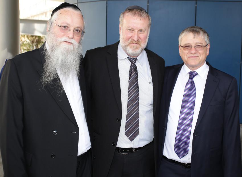 ראובן שיף, אביחי מנדלבליט ויהודה מרמורשטיין