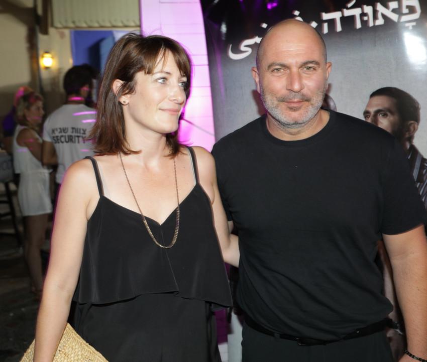 ליאור רז ובת הזוג (צילום: רפי דלויה)