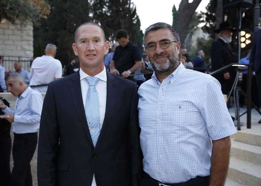 יעקב הלפרין ועמית בהט (צילום: יונתן הלפרין(