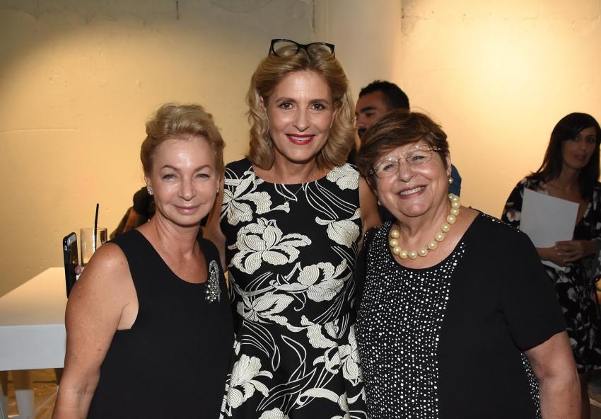 לינה קסטרו, אתי רוטר ואריאלה ורטהיימר (צילום: אביב חופי)