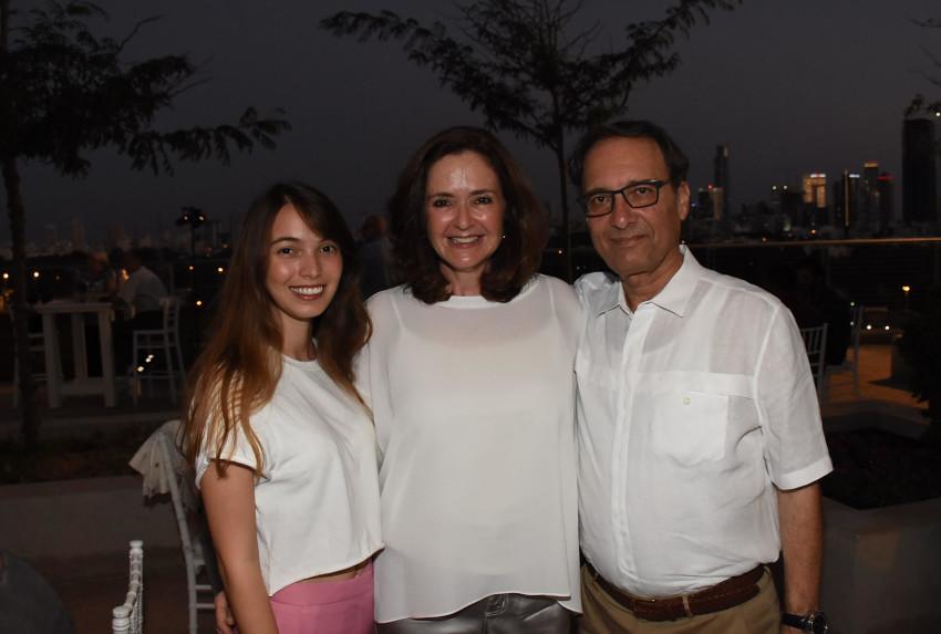 דוד , אמי ולי חודק(צילום: אביב חופי)
