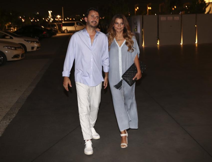 שיק. רינת גבאי ובעלה
