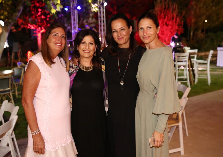 שירה קופרמן, צופית גרנט, זוהר יעקובסון ומטי קרסו (צילום: אלירן אביטל)