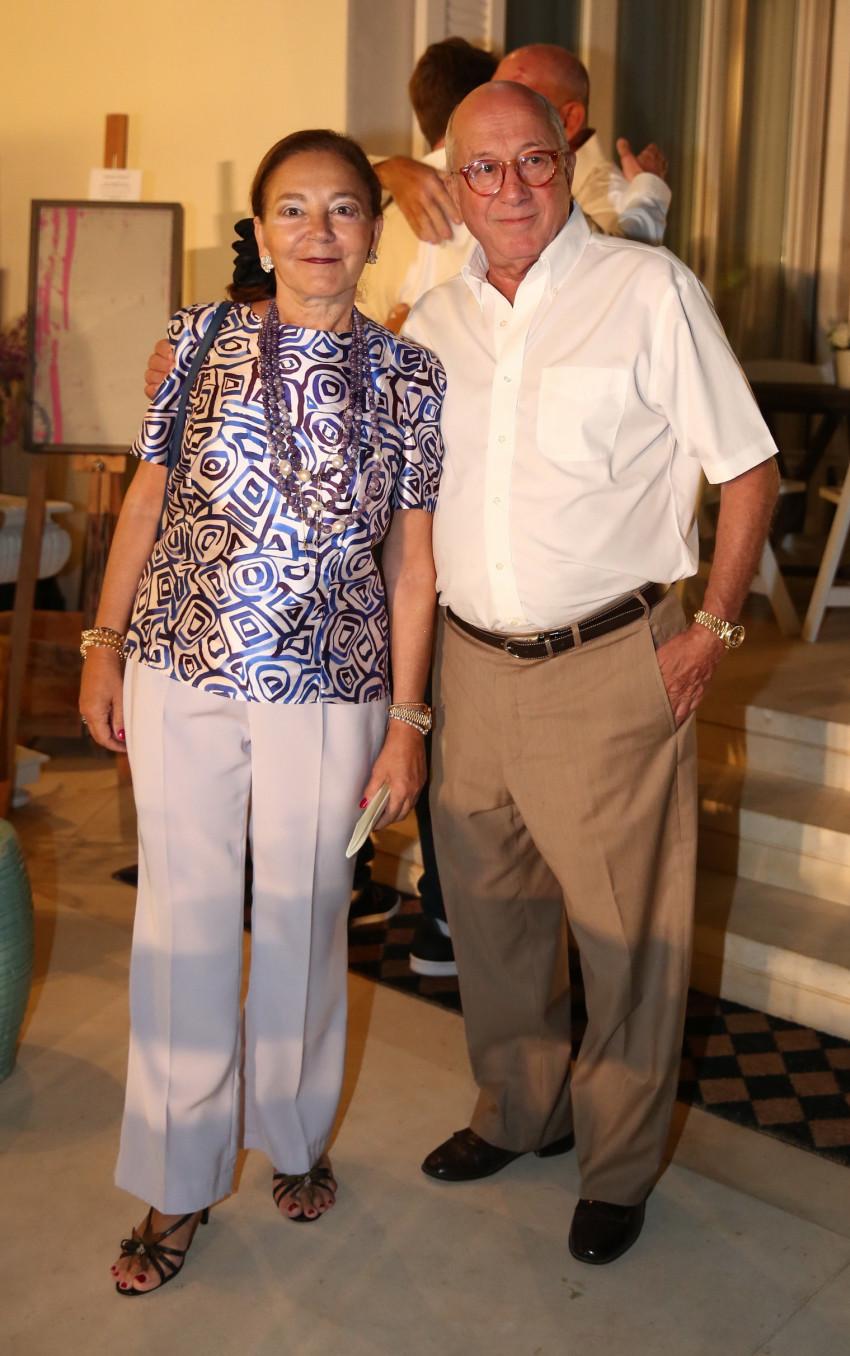 יצחק ולינדה סגול (צילום: אלירן אביטל)