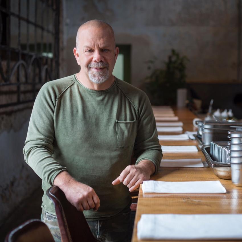 השף רן שמואלי (צילום: אנטולי מיכאלו.)