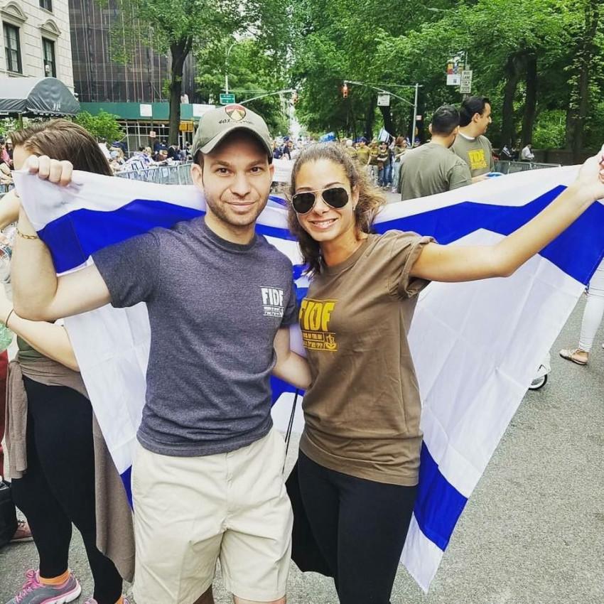 ליסה ובריאן מרמלשטיין (צילום:  FIDF NYC)