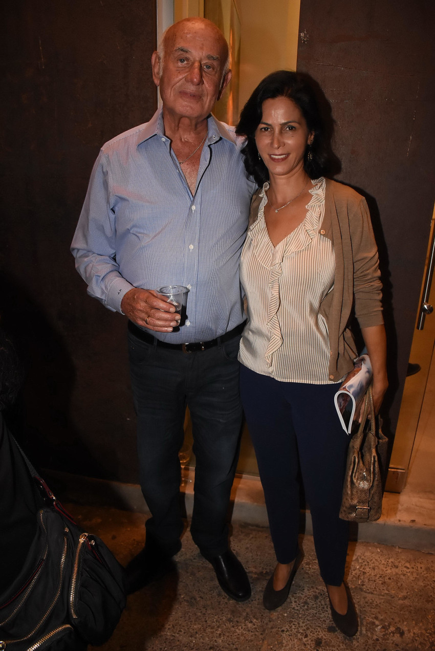 יעקב ואסנת פרי (צילום: אביב חופי)