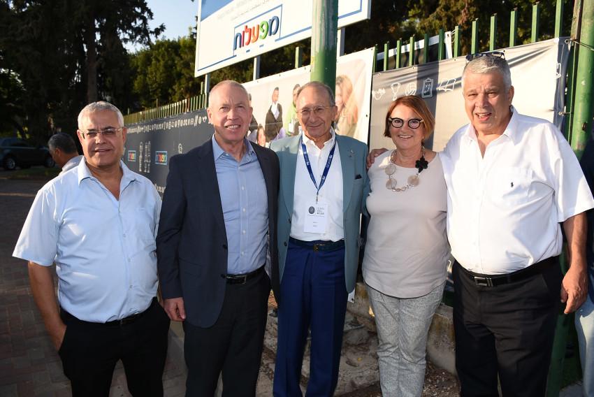 (צילום: אביב חופי)מוטי אורנשטיין, עירית תאומים, סמי סגול, יואב גלנט וזקי לוי