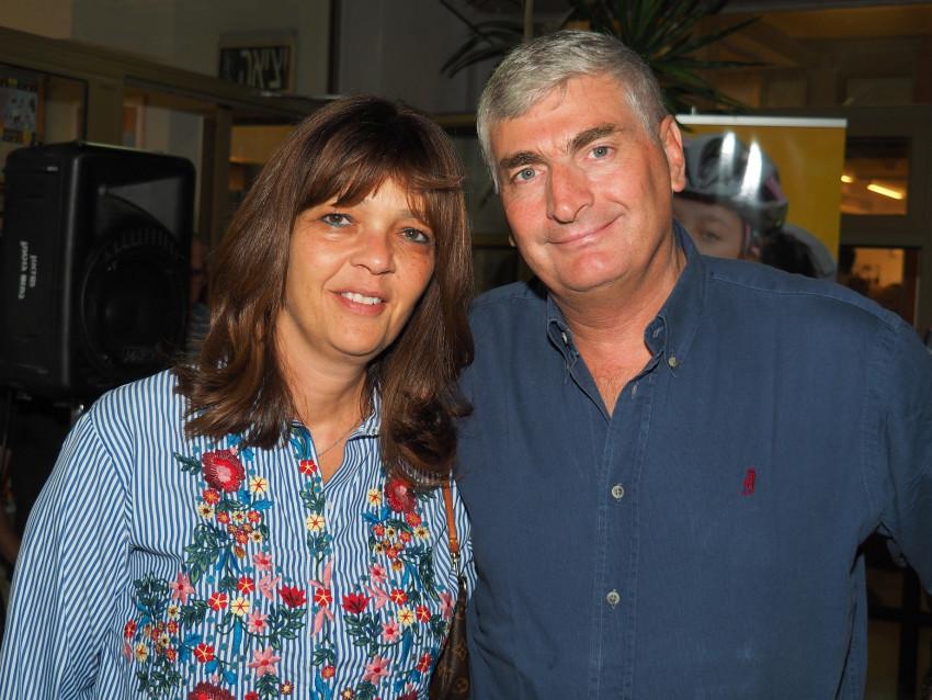 יגאל וציפי לנדאו (צילום: עמותת אתגרים)