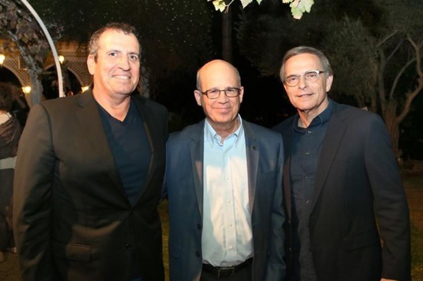 אמנון דיק, יוסף קלפטר ואיל וולדמן (צילום: שי בראל)