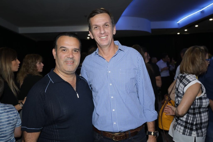אריאל פינטו ומוטי כוזהינוף (צילום: רפי דלויה)