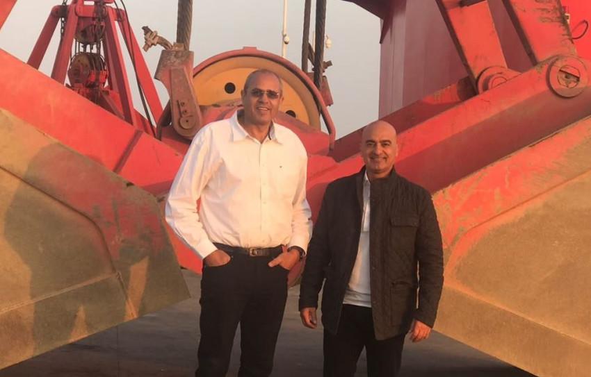 """חנן מור ואבי מאור (צילום: יח""""צ)"""