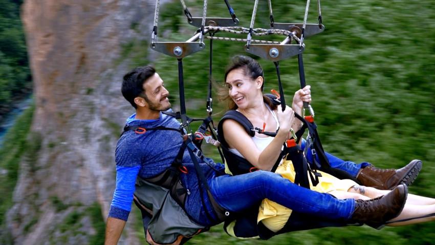 אלי ביז'אווי ומיקאלה גוטנמכר (צילום מסך, חתונה ממבט ראשון)