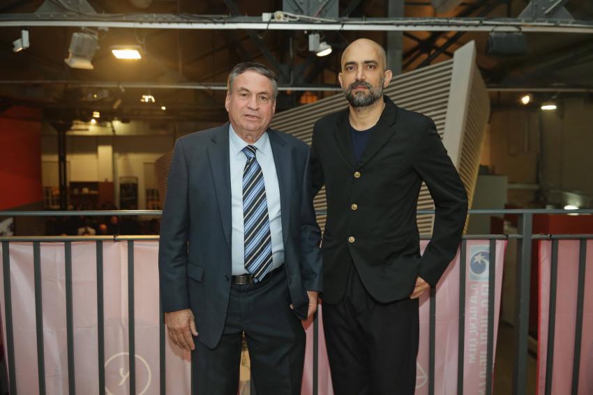 שלומי אלקבץ ועוזי דיין (צילום: שוקה כהן)