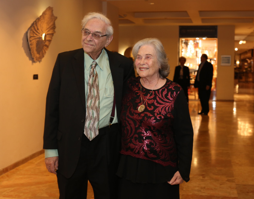 רות ואוריאל ארנון (צילום: איתי בלסון ועידן זליקוביץ')