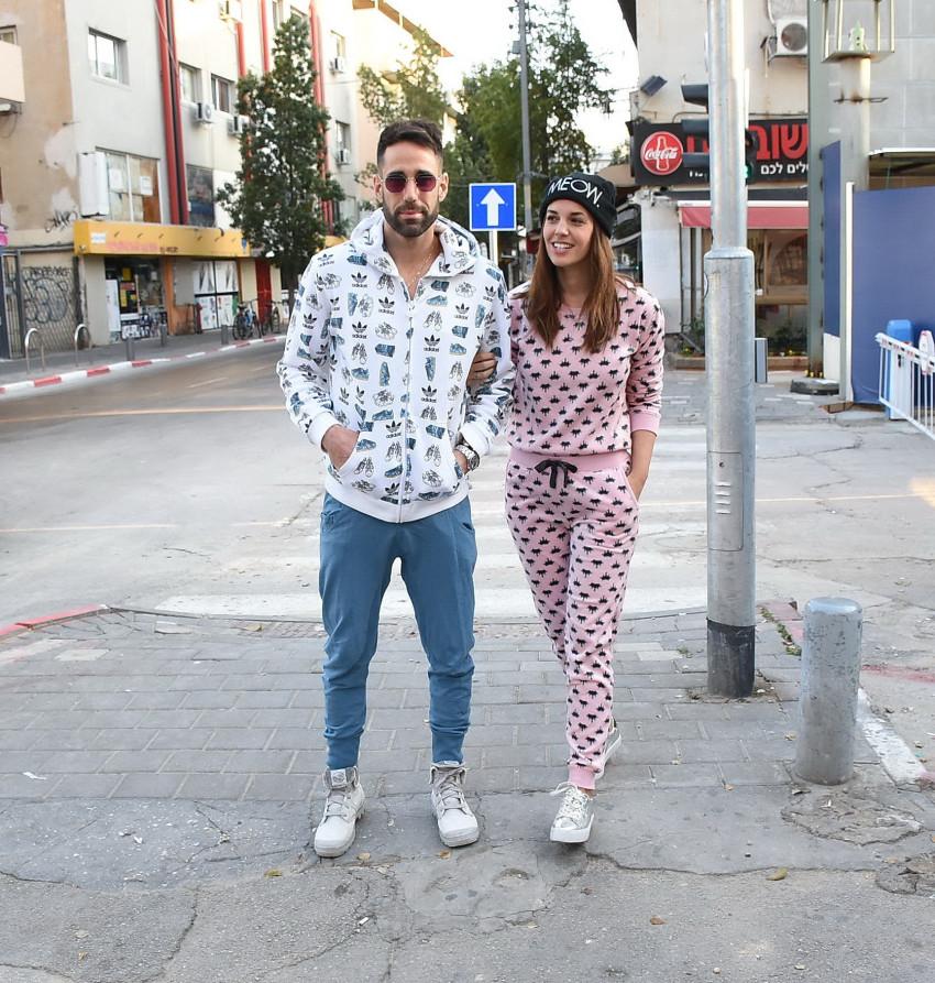 הכי פשוט הכי יפה. ירדן הראל ובעלה עמרי