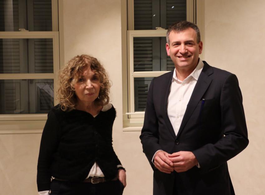 """גיא סברסקי ומיכל שוורץ (צילום: יח""""צ)"""