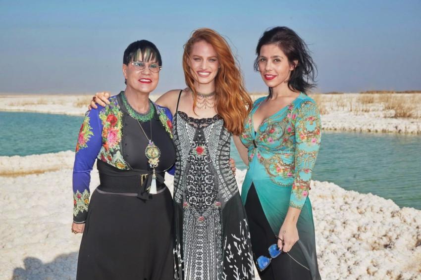 יסמין נגרין, יערה בנבנישתי ומיכל נגרין (צילום: שוקה כהן)