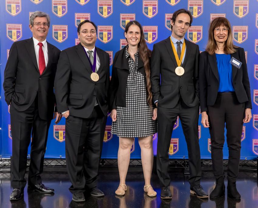 פרופ׳ נילי כהן , ד״ר עודד רכבי, פרופ׳ ענת לוין, ד״ר צ׳רלס דיזנדרוק, ואליס רובינשטיין