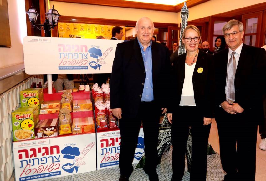 ישראל ברמן, הלן לה גל ואיציק אברכהן (צילום: סיון פרג')