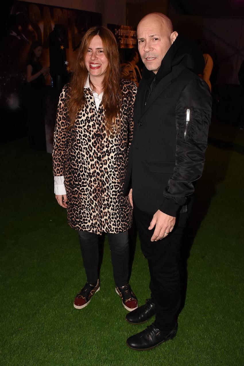 רמי קליינשטיין ואשתו אלכס