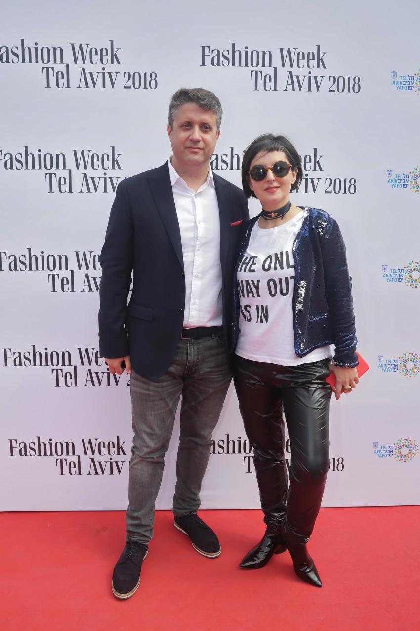 לרה רוסנובסקי ותומר רייזנברג (צילום: שוקה כהן)