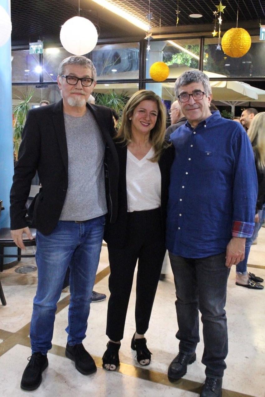 יונה פוגל, לילאן ברטו וארתור קוגן (צילום: מאיה פופלינגר)