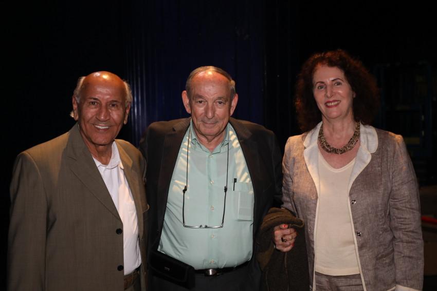 דליה לוין, אריה ויסמן וצ'יטה כהן (צילום: ששון תירם)