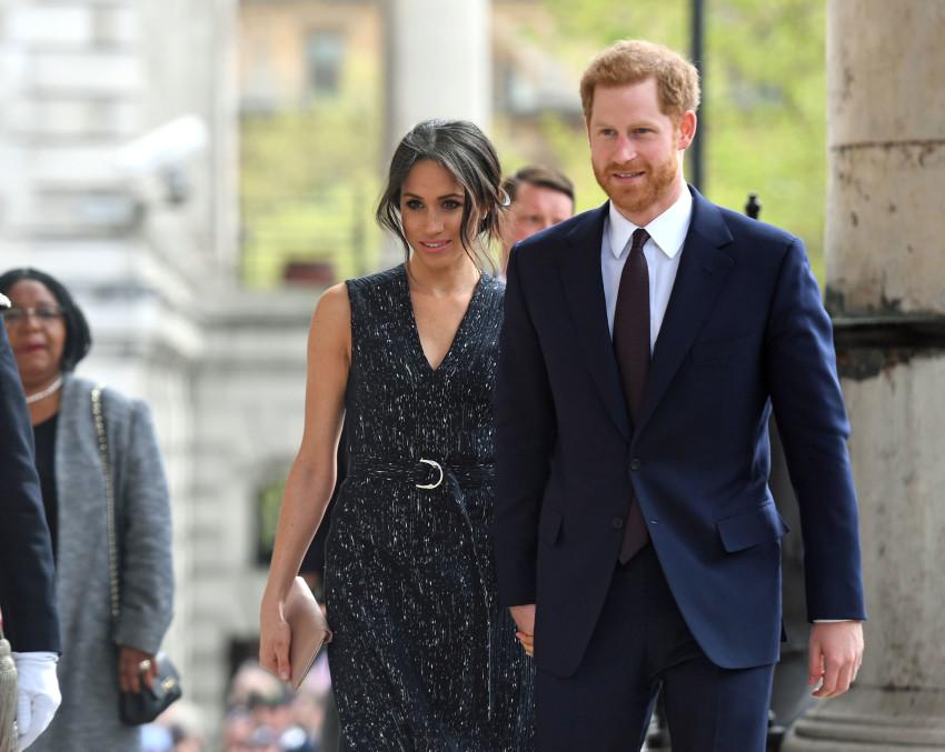 אהבה מנצחת. מייגן מרקל והנסיך הארי(צילום: גטי)