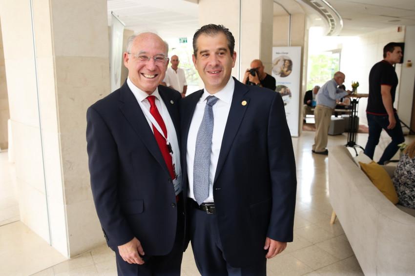 יעקב פרנקל ואסי שמלצר (צילום: אלירן אביטל)