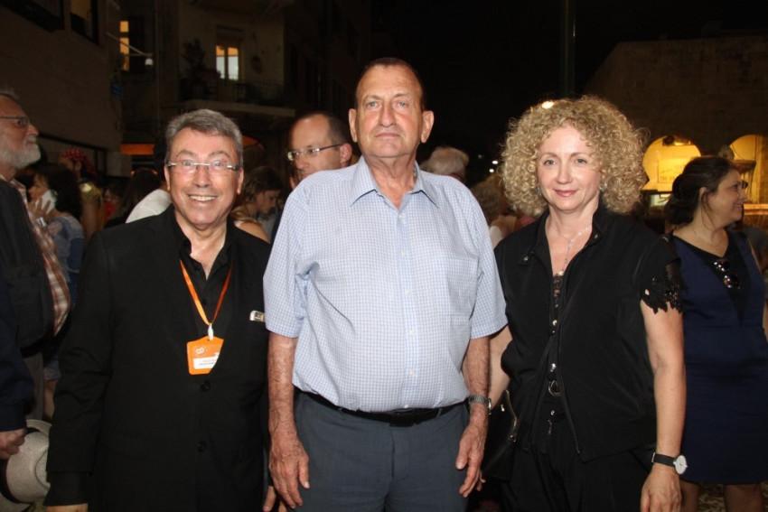 לנה קריינדלין, רון חולדאי ונעם סמל (צילום: אסף לב)