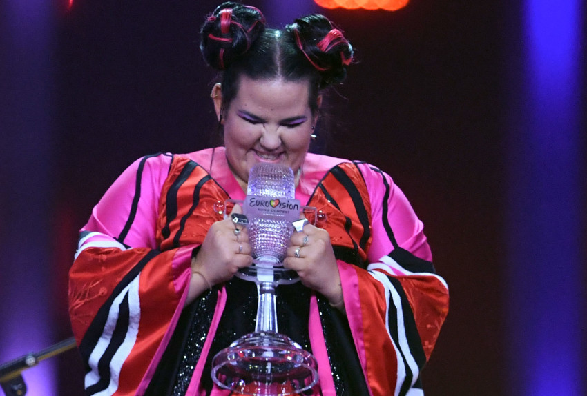 הזוכה שלנו! (צילום: AFPׂ)