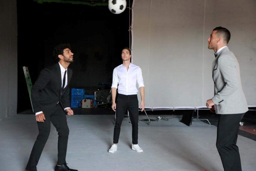 גברים וכדורגל. עם תומר חמד ובוריס קליימן