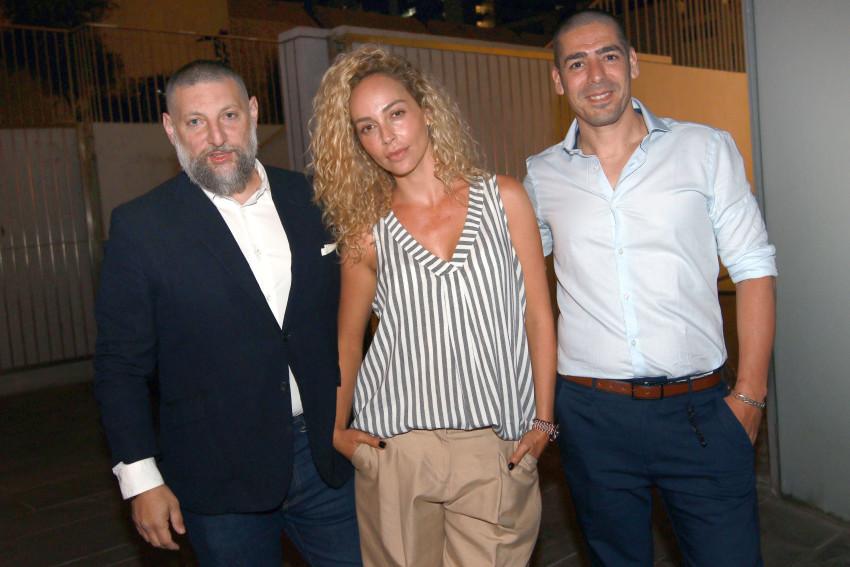 צוות מנצח. יוסי שטרית, מירי בוהדנה ואסף גרניט (צילום: ענת מוסברג)